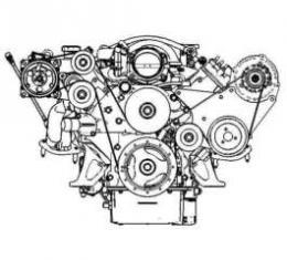 LS Engine Air Conditioning Bracket Kit