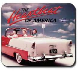 Chevrolet Vintage Ad Mouse Pad