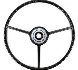 ACP Steering Wheel 3-Spoke Black FP-ES018