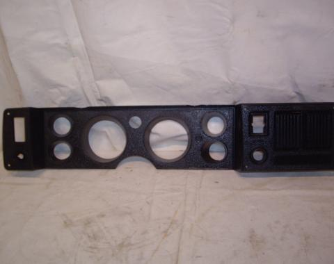 Camaro Dash Carrier Bezel, without Air Conditioning, USED, 1979-1981