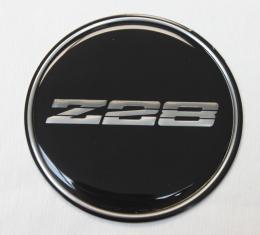 Camaro Wheel Center Cap Emblem, Z28, GM, 1982-1986