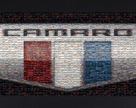 Framed Camaro Six Mosaic