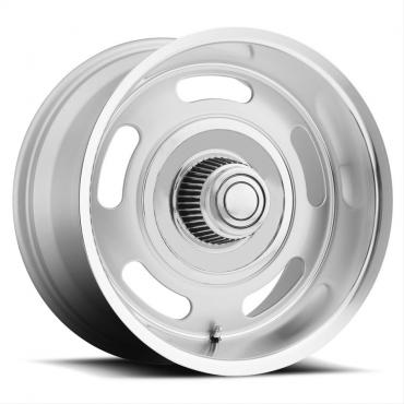Voxx B/G Rod Works Rally Silver Wheels with Machined Lip, 17x8