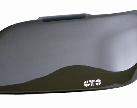 GT Styling GT0101S, Headlight Cover, Full Cover, Solid, Smoke, Plastic, Set Of 2