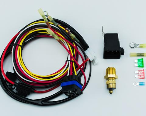 Cold Case Radiators Electric Fan Relay Wiring Kit EF-1