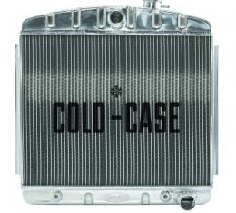 Cold Case Radiators 55-56 Tri-5 Chevy Aluminum Radiator 6 Cyl (Front Mount) CHT563A