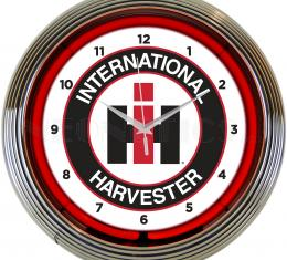 Neonetics Neon Clocks, International Harvester Neon Clock