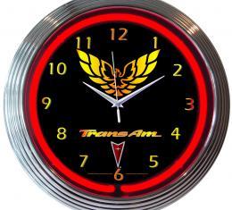 Neonetics Neon Clocks, Gm Trans Am Neon Clock