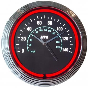 Neonetics Neon Clocks, Speedometer Neon Clock