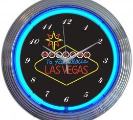 Neonetics Neon Clocks, Las Vegas Sign Neon Clock