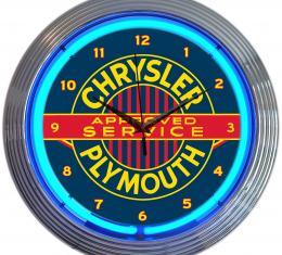 Neonetics Neon Clocks, Chrysler Plymouth Neon Clock