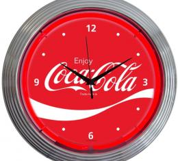 Neonetics Neon Clocks, Coca-Cola Wave Neon Clock