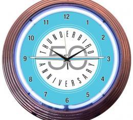 Neonetics Neon Clocks, Ford Thunderbird Neon Clock