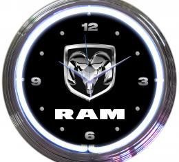 Neonetics Neon Clocks, Ram Neon Clock
