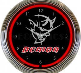Neonetics Neon Clocks, Dodge Demon Neon Clock