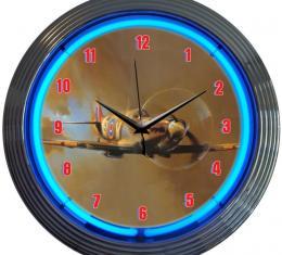Neonetics Neon Clocks, Spit Fire Neon Clock