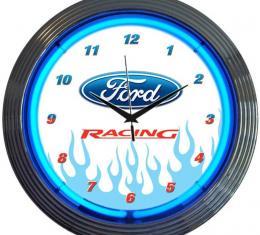 Neonetics Neon Clocks, Ford Racing Neon Clock
