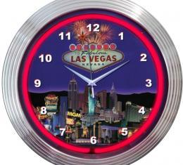 Neonetics Neon Clocks, Las Vegas Strip Neon Clock