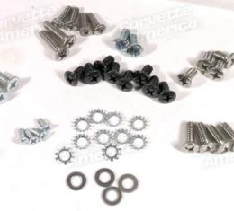 Corvette Convertible Top Frame Rebuild Hardware Kit, 1963-1967