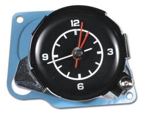 Corvette Quartz Movement Clock, 1975-1976
