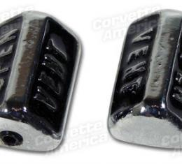 Corvette Vent Knobs, without Air Conditioning, 1968-1969