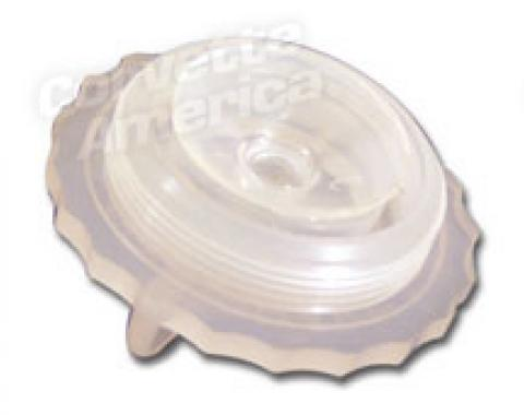 Corvette Master Cylinder Cap, with Power Brakes Replacement, 1965-1966