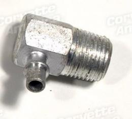 Corvette Intake Vacuum Fitting, Air Conditioning or Automatic, 1964-1972
