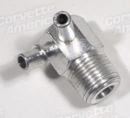 Corvette Intake Vacuum Fitting, 427 3X2, Air Conditioning & Automatic, 1967