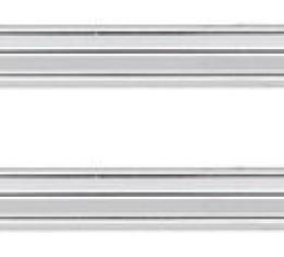 RestoParts Chrome Trim, Rear Panel, 1968 Chevelle Coupe DP00026