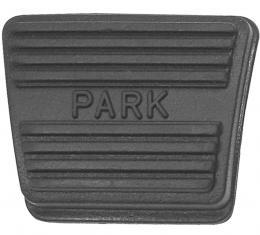 "RestoParts Pad, Pedal, 1964-72 GM ""A"" Body, 1976-77 Bonneville/Catalina, Parking Brake PZ00015"