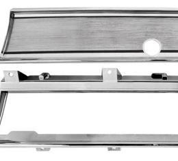 RestoParts Dash chrome kit, 1967 El Camino & Malibu CH2238