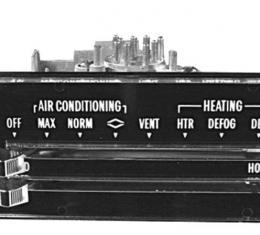 RestoParts Assembly, Heater/A/C Control, 1971-72 Chevelle/El Camino/Monte Carlo CH25793