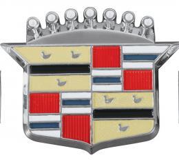 RestoParts Emblem, 63-80 Cadillac, Hub Cap Crest CE08789