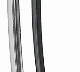 RestoParts Molding, Quarter Window, 1968-72 A-Body/1969-72 Grand Prix, Vertical, Left Hand PP00192-LH