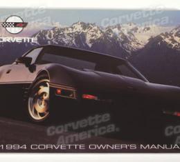 Corvette Owners Manual, 1994