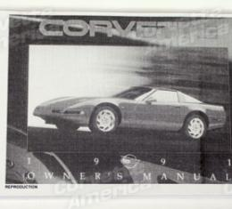 Corvette Owners Manual, 1991, NQP