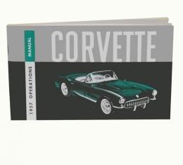 Corvette Owners Manual, 1957