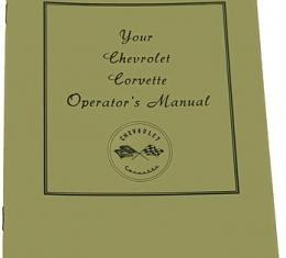 Corvette Owners Manual, 1953-1955