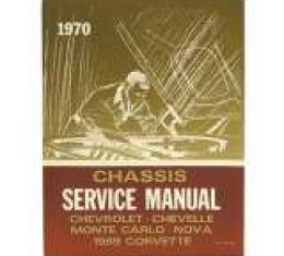 Corvette Service Manual, 1970