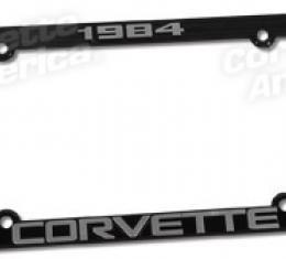 Corvette Year License Frame, 1984-2006 | 1984