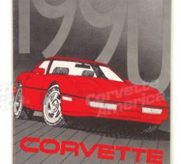 Corvette Owners Manual, 1990