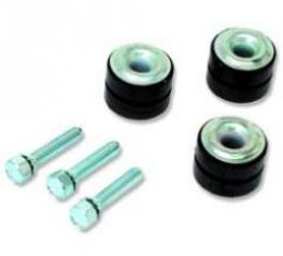 El Camino Wiper System Related Bolts Wiper Motor & Insulators Grommets, 8 Pieces, 1964-1966