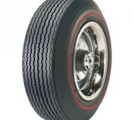 El Camino Tire, F70/14 Red Line, Goodyear Speedway Wide Tread Bias Ply, 1967-1968