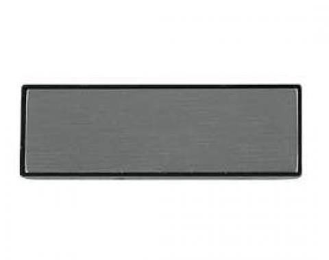 El Camino Door Pull Strap Insert, Brushed Aluminum, 1981-1987