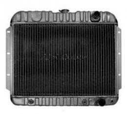 El Camino Radiator, Big Block, 3-Row, Heavy-Duty, For Cars With Manual Transmission & Air Conditioning, U.S. Radiator, 1959-1960