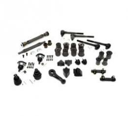 El Camino Suspension Kit, Front & Rear, With Round Lower Front A-Arm Bushing, 1970
