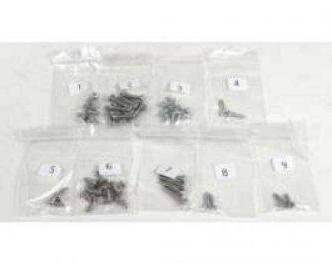 El Camino Exterior Screw Kits 52 Screws, 1960