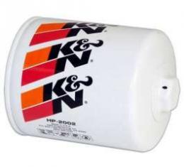 El Camino Oil Filter,K&N,Long,Screw-On,1968-1987