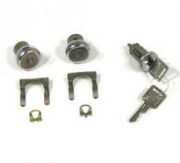 El Camino Ignition & Door Lock Set, Later Style Keys, 1966-1967