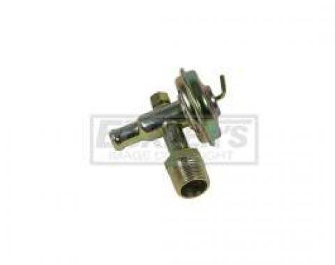 El Camino Heater Water Control Valve, 350 Diesel With Air Conditioning, 1983-1984